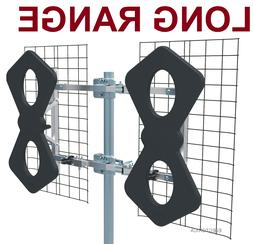 8 BOW HEAVY DUTY METAL MULTI-DIRECTIONAL VHF UHF OUTDOOR HD
