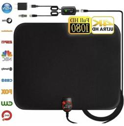 U MUST HAVE Amplified HD Digital TV Antenna Long 65-80 Miles