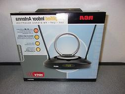 RCA AMPLIFIED INDOOR ANTENNA w/ LED CLOCK #ANT501 - NEW IN B