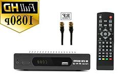 Digital converter box RF and RCA Cable For Recording and Vie
