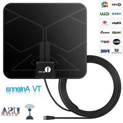 1Byone Digital HD Indoor TV Antenna with High Gain Amplifier