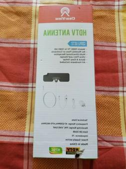 Clearview HDTV Antenna Free TV up to 50 mile range Ultra thi