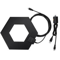 HDTV Antenna High Definition 50 Miles Long Range with Amplif