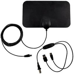 Indoor Amplified HDTV High Reception Antenna for TV Signals