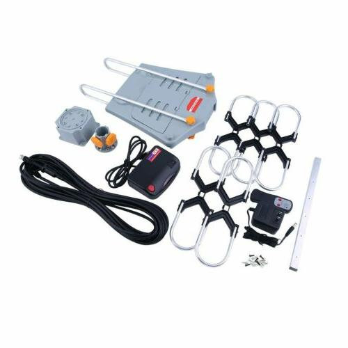 150MILES OUTDOOR MOTORIZED AMPLIFIED GAIN UHF