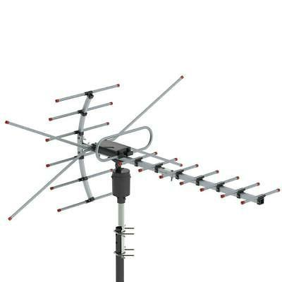 990 Miles Outdoor Amplified HDTV Digital TV Antenna VHF UHF