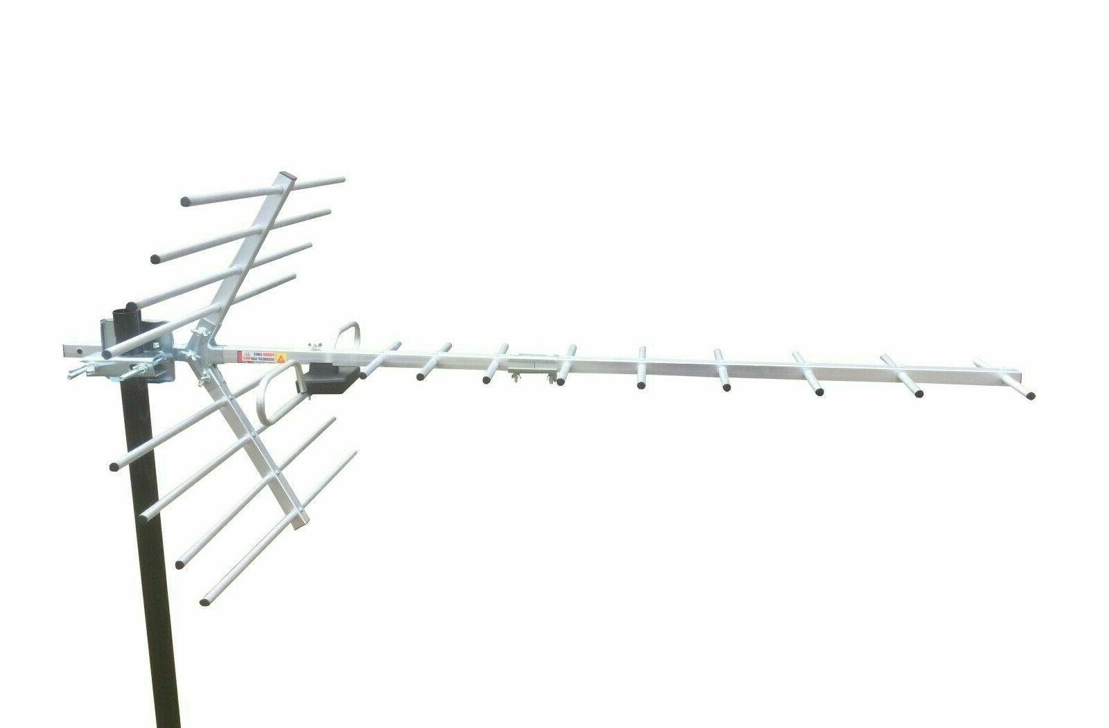 Amplified 250 HD TV Antenna Includes Signal