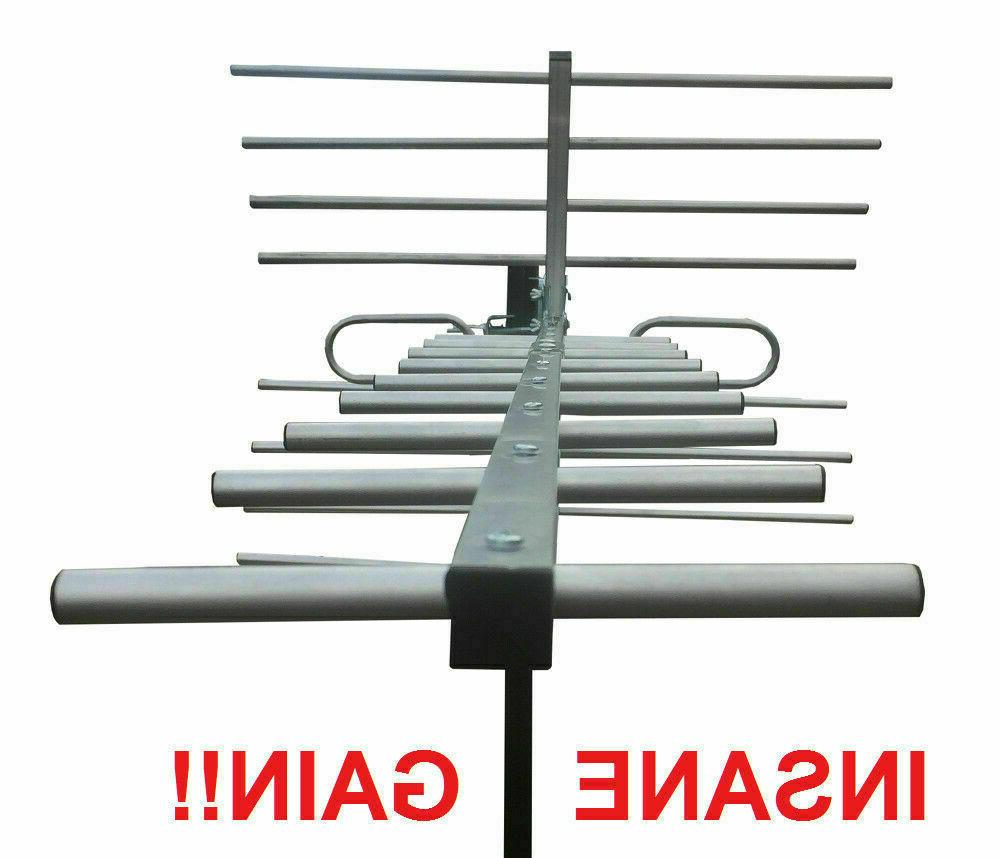 Amplified 250 HD TV Antenna Includes Low Signal