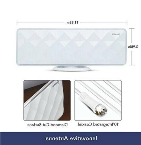 ANTOP Flat-Panel Smartpass Amplified Antenna w/ 4G LTE