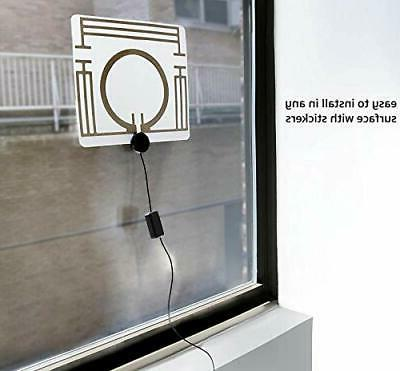 Indoor Antenna, Ancable Amplified Digital