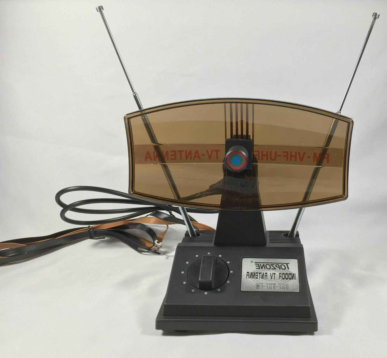 Rotating Antenna Rabbit Ear for UHF VHF Cable AD-30019