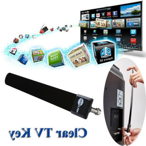 USA Clear TV Key Free Digital HDTV Indoor Antenna Ditch Cabl
