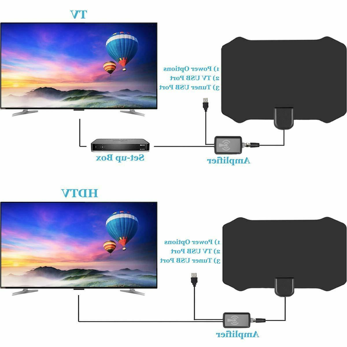 TV Antenna for TV Indoor Antenna With 120 Range