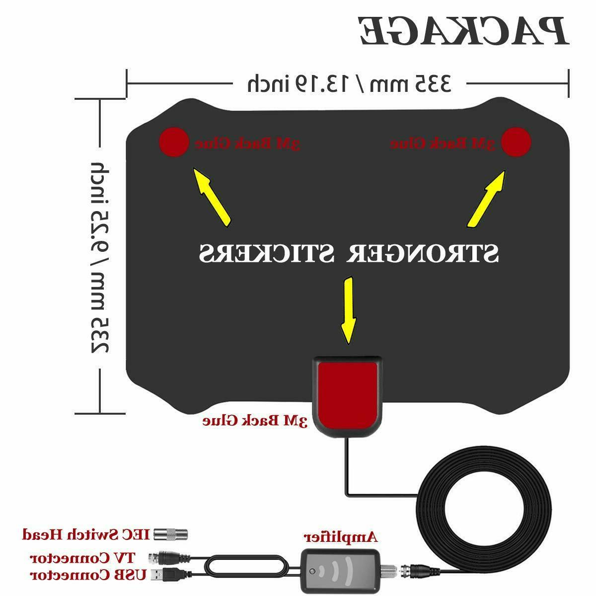 TV Antenna for TV With 120 Range