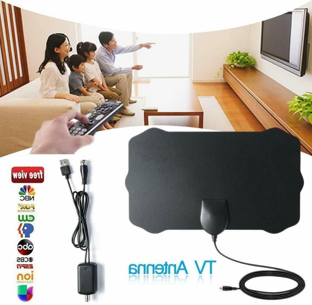 Upgraded TV Antenna Amplifier Free 1080P HDTV Amplified