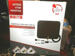 NEW IN BOX -AMPLIFIED HD DIGITAL TV ANTENNA Long 65-80 miles