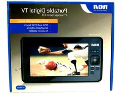 """RCA  Portable Digital TV 7"""" Widescreen LCD With Remote & Ant"""