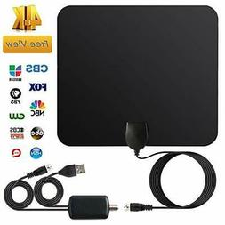 TV Antenna for Digital TV Indoor HDTV Antenna With 120 Miles