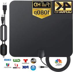 3600 Miles TV Antenna Newest Indoor HDTV Amplified Digital T