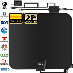TV Antenna Newest 4k 1080p HDTV Indoor Digital Amplified Up