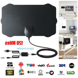 upgraded tv antenna with amplifier free digital